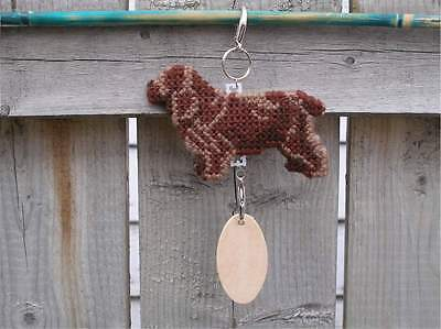 SUSSEX SPANIEL Dog crate tag or hang anywhere sign pet art decorative ornament