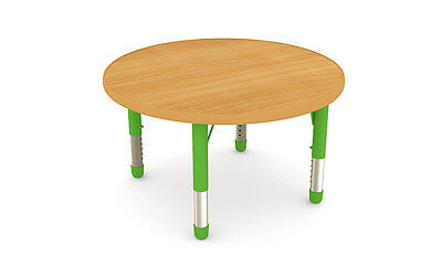 Wooden Round Table  (4 Kids)