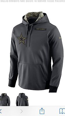 2016 Dallas Cowboys Salute To Service Nike Hoodie NWT Limited 3XL ON FIELD