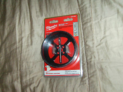"""Milwaukee 4-3/8"""" Recessed Light Hole Saw 49-56-0300 """"sealed Package"""""""