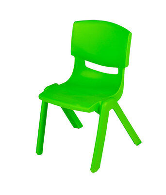 """Preschool Chairs  (Set/6) 9"""" Stackable Great For Daycares"""