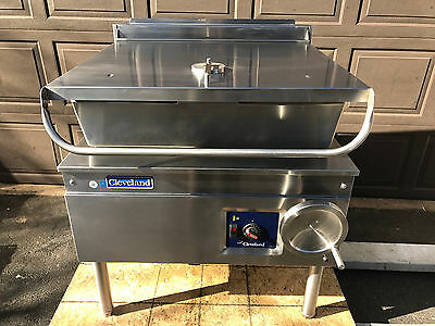 Cleveland 30 Gallon (Electric) Tilting Braising Pan (Exceptional) w/Warranty