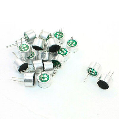 5x Aluminum Housing Stereo 46dB Full-Directional Electret Microphone