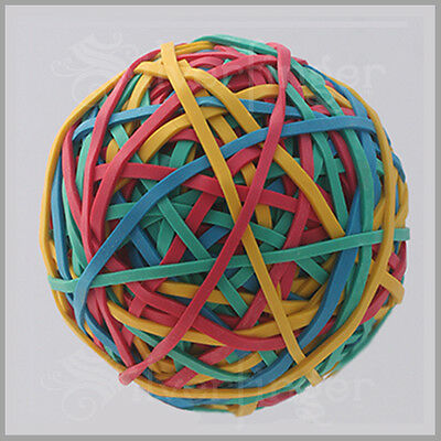240pc RUBBER BAND BALLS MultiColor Rubberbands Ball School Office Hobby x1—3—5—7