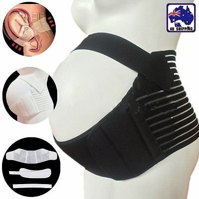Maternity Belly Belt Waist Abdomen Support Pregnant Brace Bandit Band OWAI231