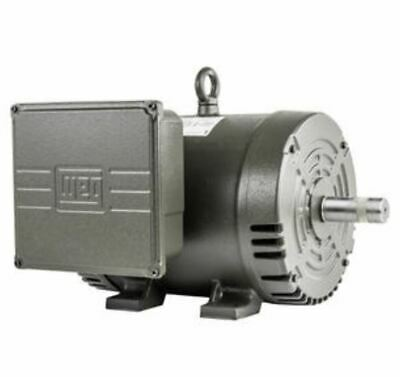 New Baldor 7.5 Hp Electric Motor 3450 RPM 184 T Frame 1 Ph Single Phase 208/230V