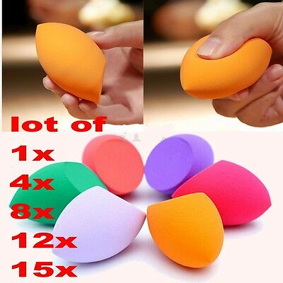15x Makeup Foundation Sponge Blender Blending Puff Powder Smooth Beauty