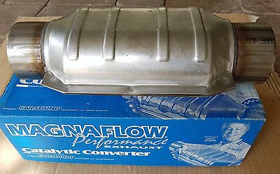 """Magnaflow 3"""" 200 CPI Metal Core Stainless Steel Cat Catalytic Converter Oval"""