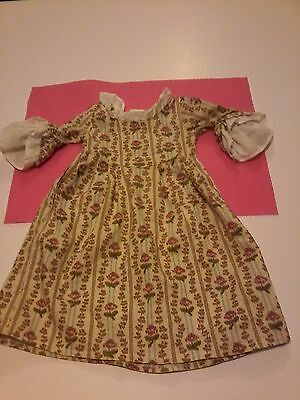 "American Girl 18"" Retired FELICITY ROSE GARDEN MEET DRESS 1993 Pleasant company"