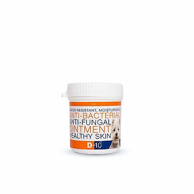 DOG Skin OINTMENT 50gms Anti-Fungal and Anti-Bacterial Cream Healthy Skin