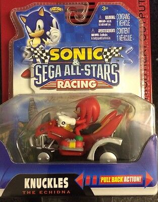 Sonic And Sega All Stars Racing Knuckles Pull Back Car