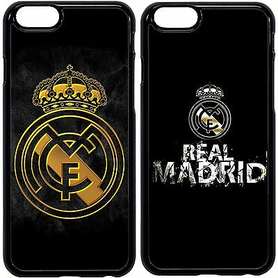 REAL MADRID FC CLUB CASE COVER FOR APPLE IPHONE 4 5 6s 7 PLUS, SAMSUNG GALAXY.