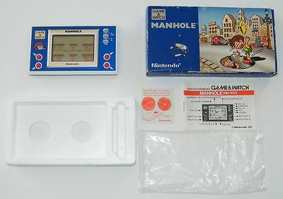 NINTENDO GAME & WATCH - MANHOLE - New Wide Screen 1983 - BOXED -