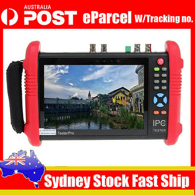 "IPC9800ADHS 7"" Touch Screen 1080P HD TVI CVI AHD SDI CVBS IP Camera CCTV Tester"