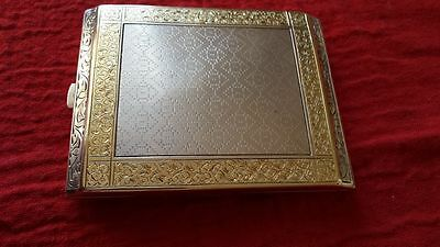 Cigarette case, silver, gilded, Czechoslovakia during the First Republic.