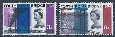 GB 1964 SG659/660 Opening of Fourth Road Bridge Set Mint MNH