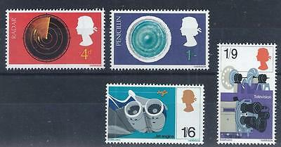GB 1967 SG752/755 British Discovery and Invention Set Mint MNH