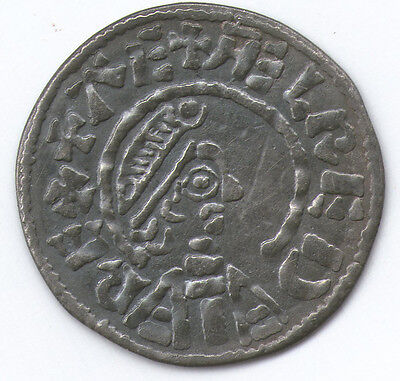 (13) King Aethelred I Penny (ca 870), Souvenir  Solid Sterling Silver