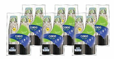 Dixie To Go Paper Cups Lid Pack of 6 156 count Coffee Beverages Kitchen Utensils