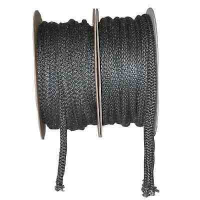 Stove Rope Graphite Fiberglass Various Size : 6 mm to 20 mm High Quality