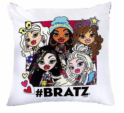 2 X New Hashtag Bratz Design Cushion Pillow Kids Bedroom Girls Room Sofa Pillow