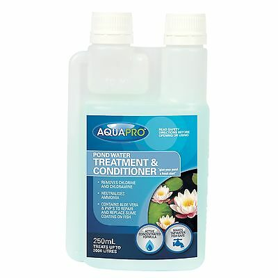 Aquapro POND WATER TREATMENT & CONDITIONER Healthy Formula for Plant/ Fish 250ml
