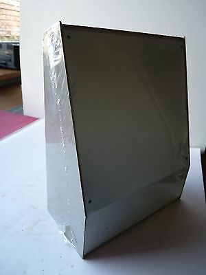 Equipment Case Grey - one off - Sloped Front console - ABS box / Aluminium Front