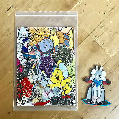 KAWS Arkitip Issue # 20 Artbook Magazine # 444 of 1000 Limited with Magnet Toy