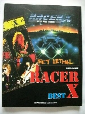 Racer X Best Japan Band Score Guitar Tab