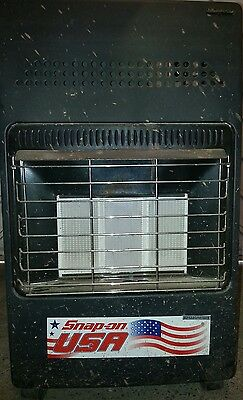 SNAP ON GAS GAS HEATER garage/shed