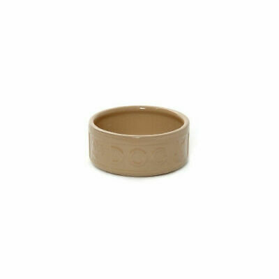 All Cane Lettered Dog Bowl - Accessories - Dog & Cat Bowls - Ceramic Bowls