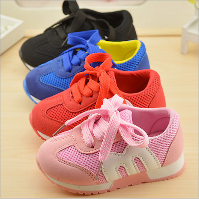 Kids Boys Child Sports Shoe Kid Boy Baby Casual Flats Running Sneaker Mesh Shoes