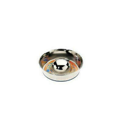 Classic Super Prem Stainless Steel Non Tip Slow Feeder - Accessories - Dog & Cat