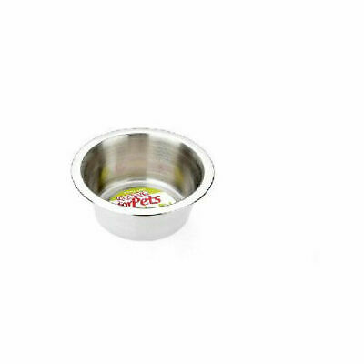 Classic Super Value Stainless Steel Dish - Accessories - Dog & Cat Bowls - Stain