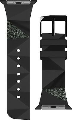 Case Mate CM032783 Facets Black Replacement Band for Apple Watch 38mm
