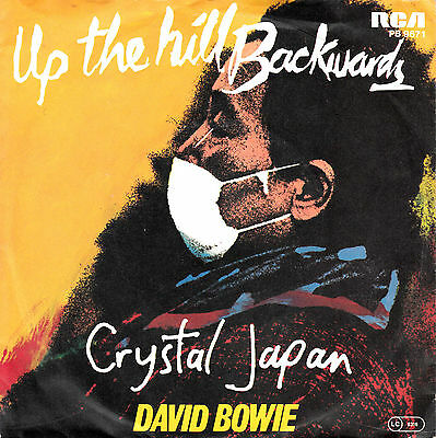 """DAVID BOWIE - Up The Hill Backwards ★ 7"""" Vinyl Single *nMint"""
