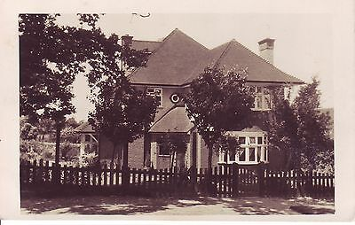 Vintage Postcard. A New House at Unknown Location. RP GC