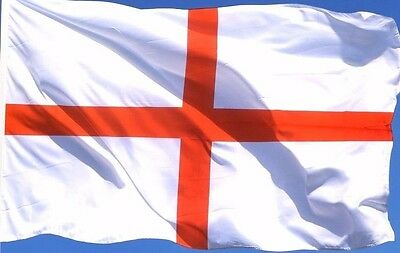 England St George Flag Cross Large Flag Approx 5ft x 3ft Polyester only £2.69