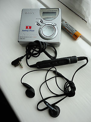 RARE Sony MZ-N510 SAFETY FIRST Promo Personal Walkman MiniDisc Player, Net MD