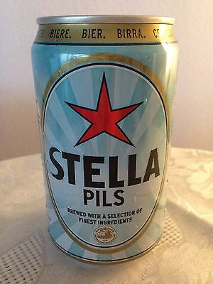 Bierdose STELLA Pils Phoenix Beverages MAURITIUS - Bottom Opened - 330ml - leer