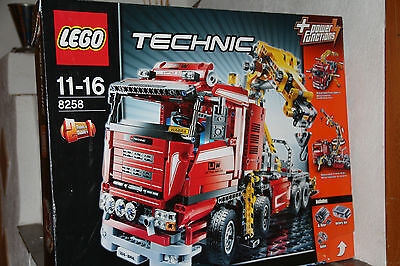 lego technic 8258 lkw mit kran eur 169 00 picclick de. Black Bedroom Furniture Sets. Home Design Ideas