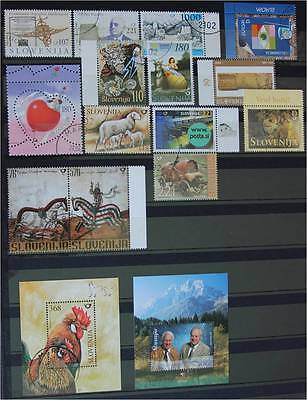 Slovenia 2003   Lot Used stamps