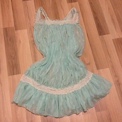 Lingerie Vintage Ethereal Nightdress - 1960s