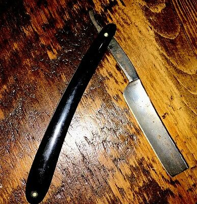 Vintage Detroit Cutlery Co Germany Straight Razor With Original Case