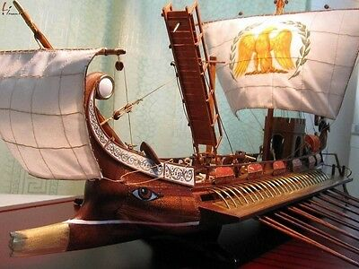 Caesar Rome Warship Scale 1/50 Wooden Model Ship Model Ship Kits Free Post