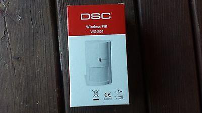DSC WS4904P Wireless Pet Immune PIR Motion Sensor w/ Battery - 433MHZ