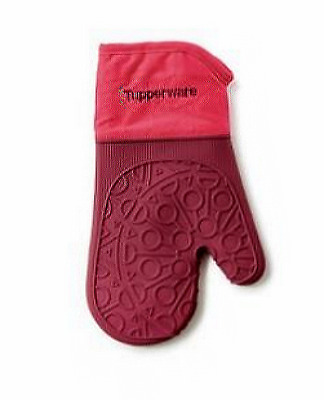 TUPPERWARE Silicone Oven Glove Special offer RED half price offer!!!