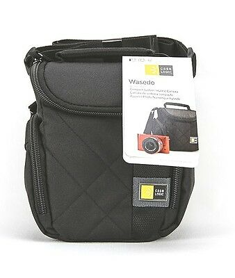 19bdb4d68f1f NEW Case Logic Wasedo - Compact   Hybrid Cameras - Protective Camera Case - Black