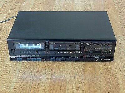 Pioneer CT-1270WR Stereo Double Cassette Tape Deck
