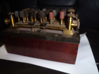 lab.resistance box vintage transmitter W.S. Steljes decade world war submarine?